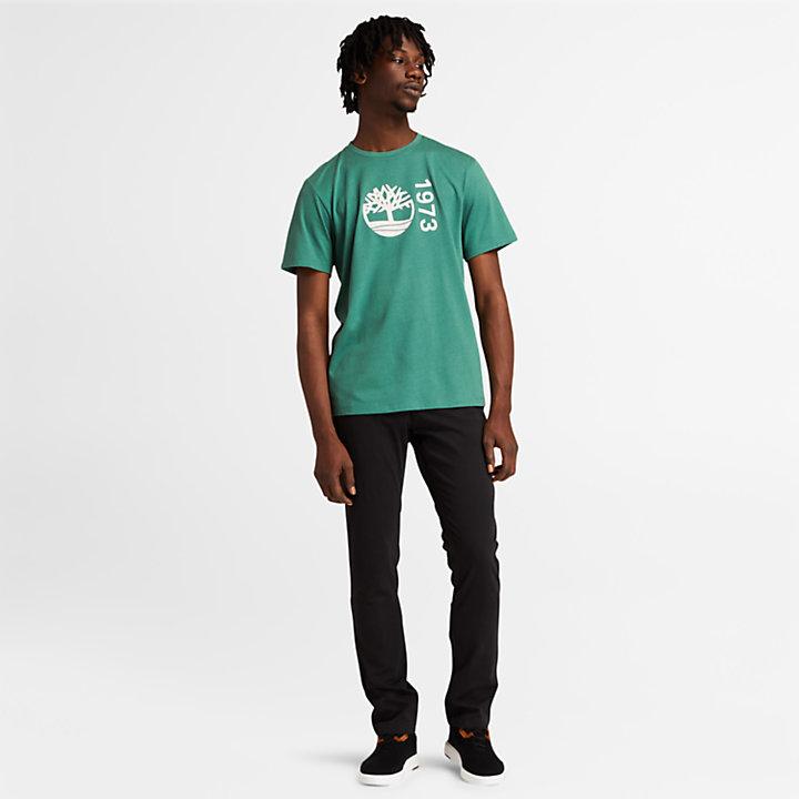 Re-Comfort EK+ T-shirt voor heren in groen-