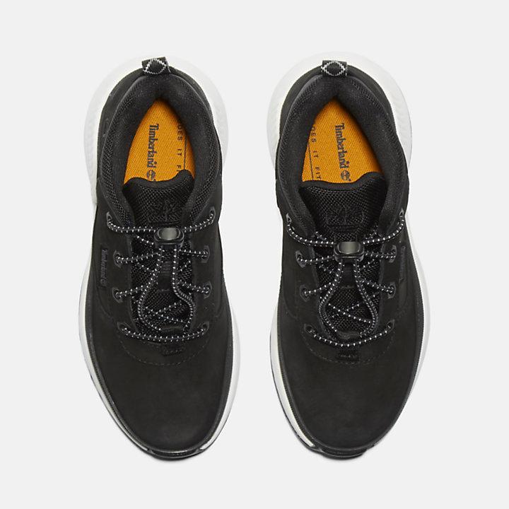 Sneaker da Bambino (dal 30,5 al 35) Field Trekker in colore nero-