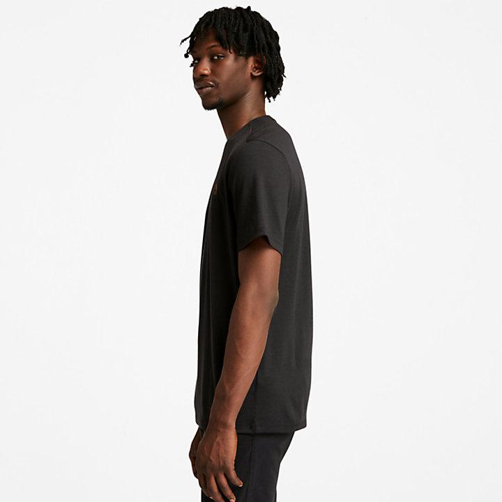 T-shirt en mérinos Eco-Ready pour homme en noir-