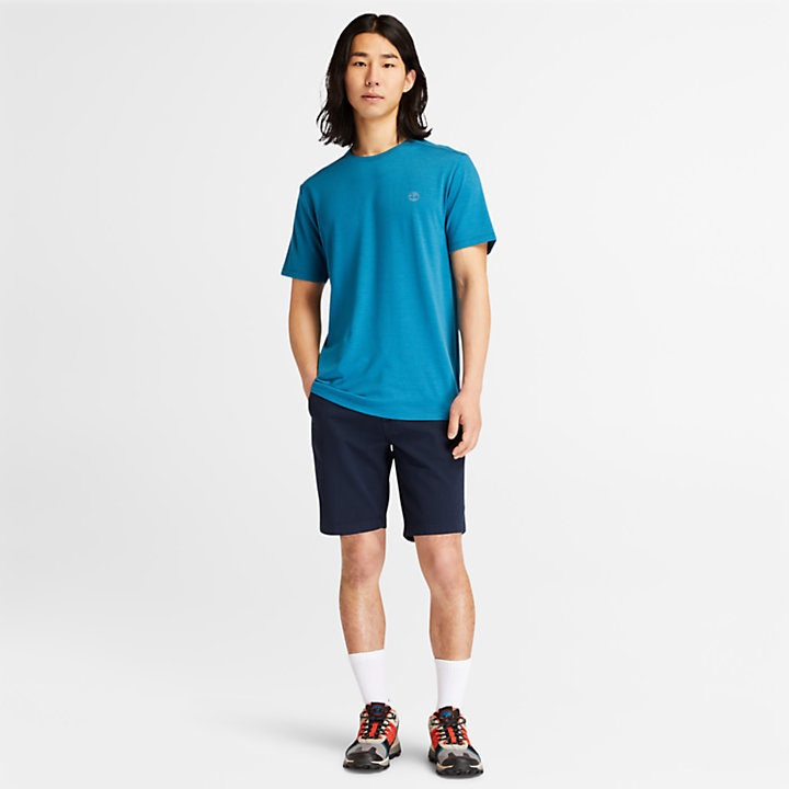 Camiseta Eco-Ready para hombre azul verdoso-