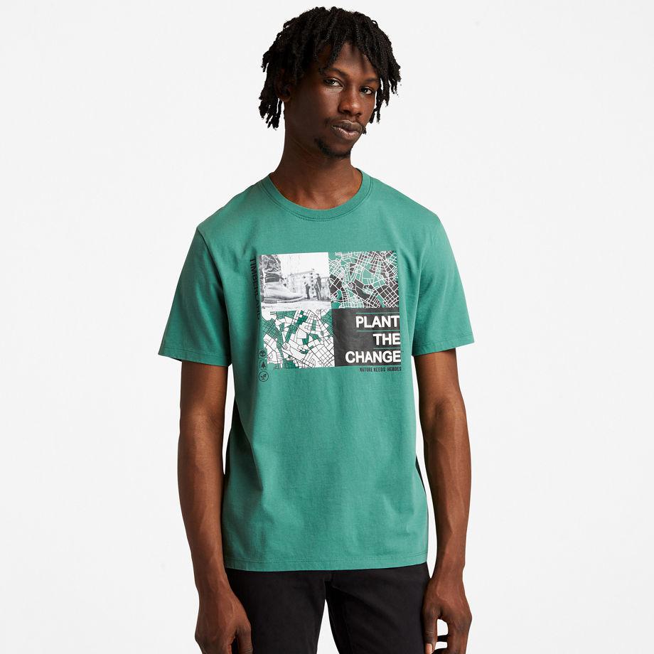 T-shirt À Motif Nature Needs Heroes™ En , Taille L - Timberland - Modalova