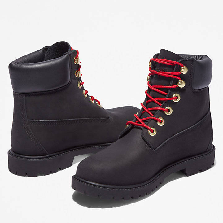 Timberland® Heritage 6 Inch Boot for Women in Black-