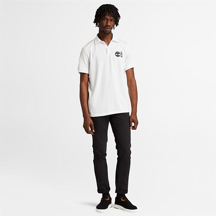 Re-Comfort EK+ poloshirt voor heren in wit-