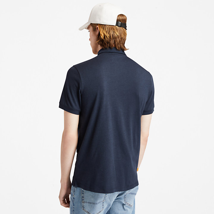 Re-Comfort EK+ Polo Shirt for Men in Navy-