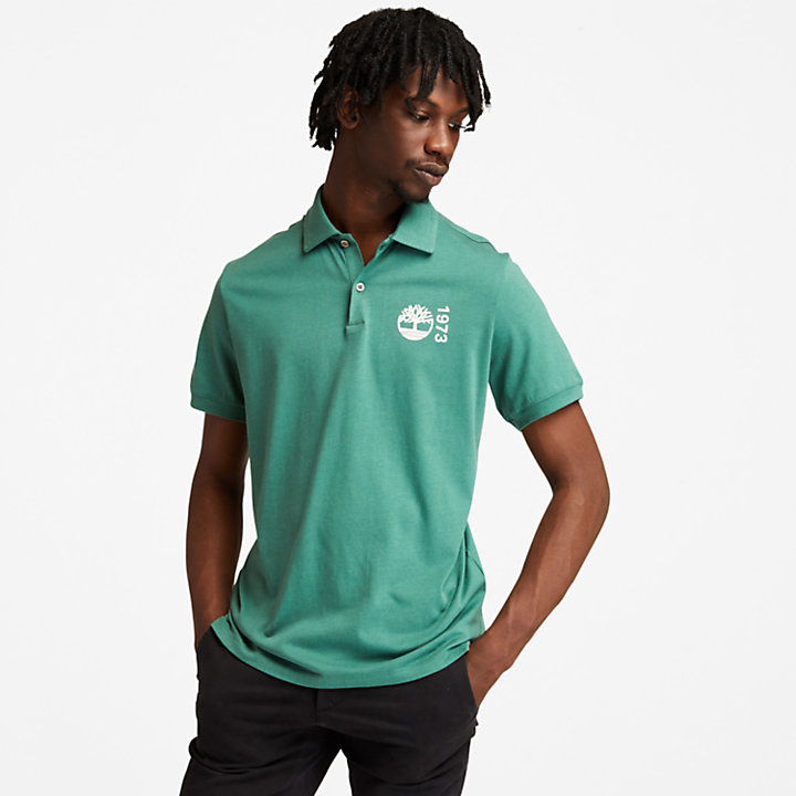 Polo Re-Comfort EK+ para hombre en verde-