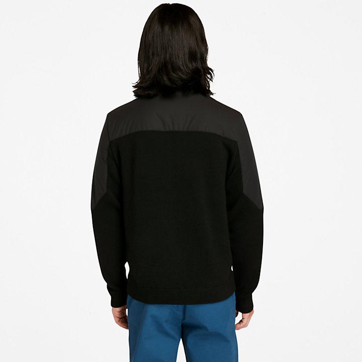 Giacca da Uomo in Misto Lana Merino Eco Ready in colore nero-