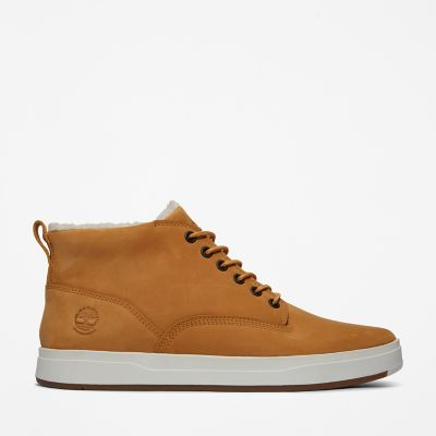 Davis+Square+Lined+Chukka+for+Men+in+Yellow