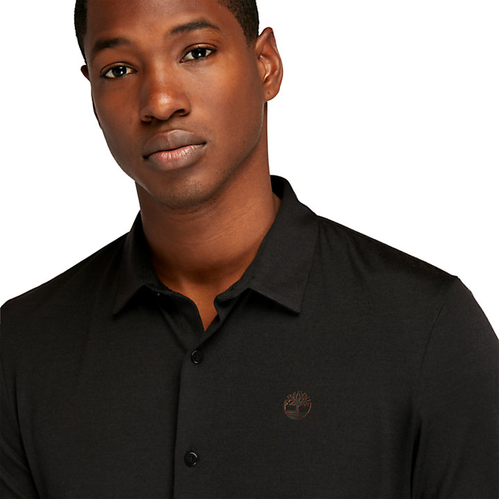 Eco-ready Shirt for Men in Black-
