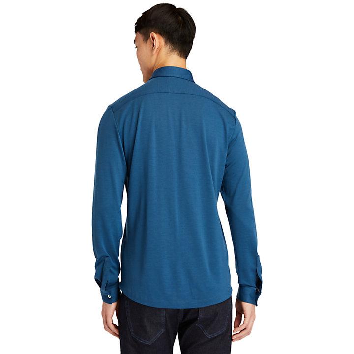 Eco-ready Overhemd voor heren in blauw-