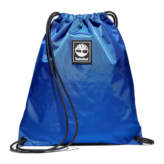 Logo Drawstring Bag in Blue | Timberland