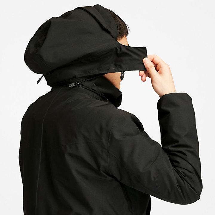 Eco Ready EK+ 3-in-1 Waterproof Jacket for Men in Black-