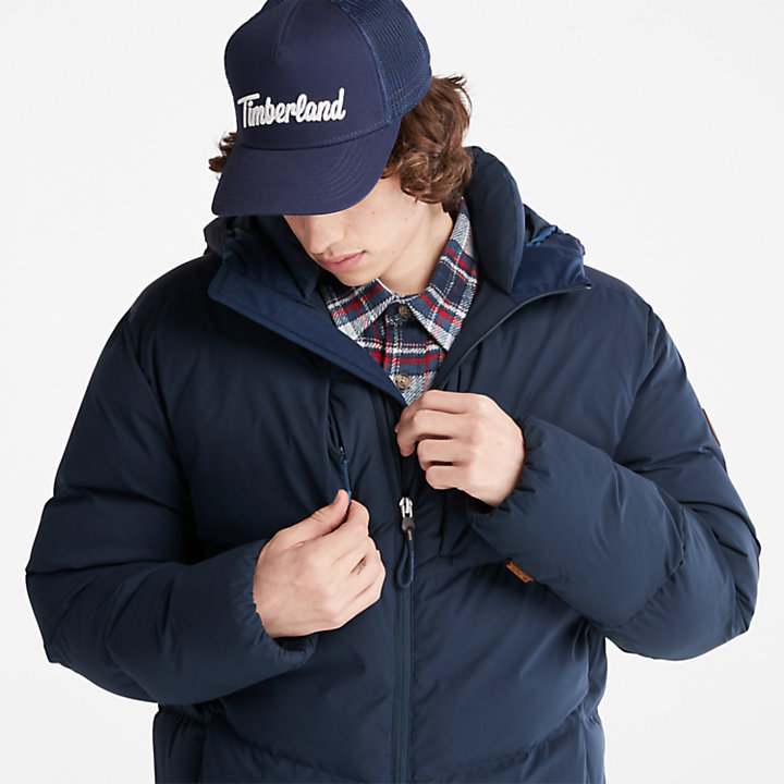 Neo Summit Winter Jacket for Men in Navy-