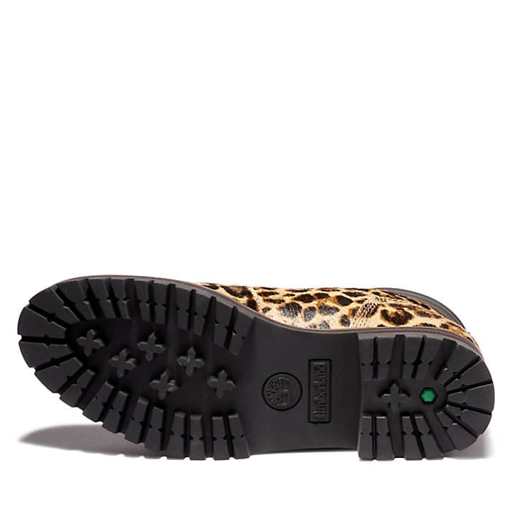 London Square Mid Hiker for Women with Animal Print-