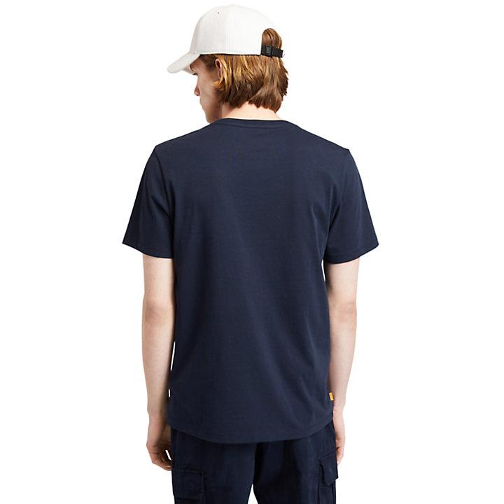 Organic Cotton T-Shirt for Men in Navy-