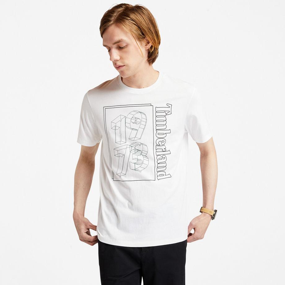 T-shirt 1973 Avec Imprimé Graphique Sur Le Devant En , Taille L - Timberland - Modalova