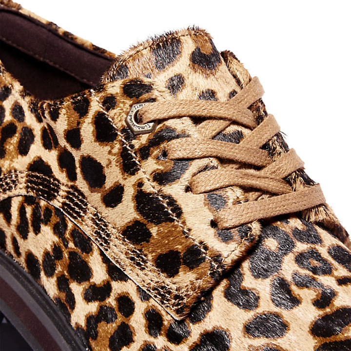 Oxford da Donna London Square con stampa animalier-