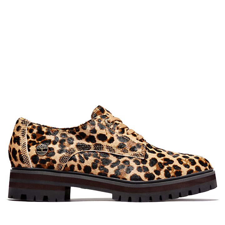 London Square Oxford for Women with Animal Print-