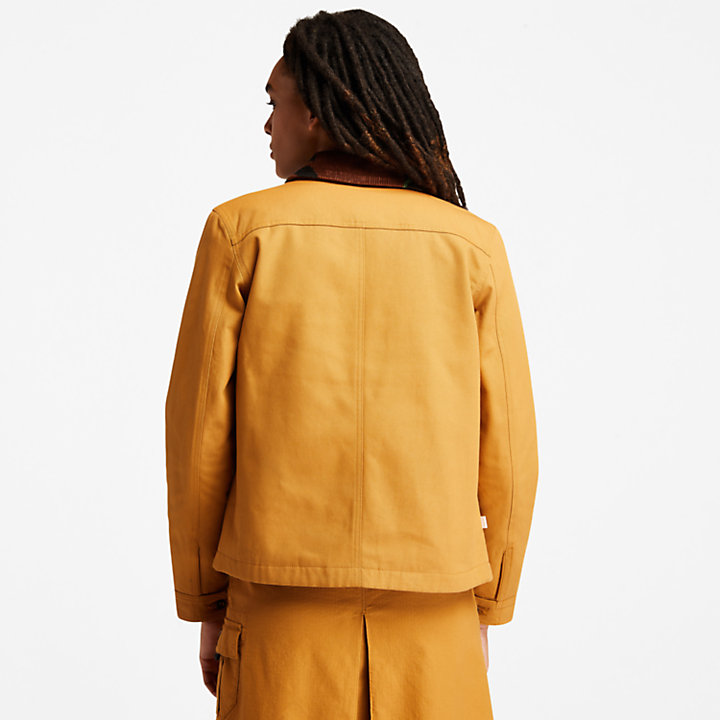 Workwear Chore Jack voor dames in geel-