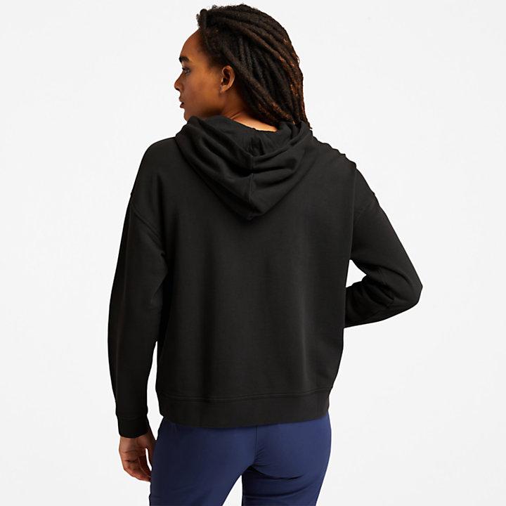 Sweat à capuche utilitaire Progressive pour femme en noir-