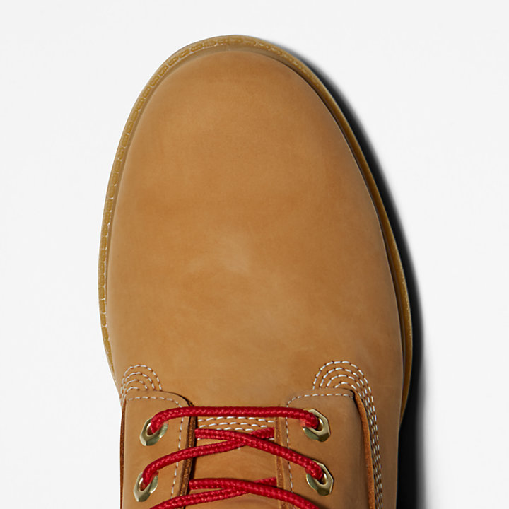Bota de cuero 6 Inch Timberland® Premium Luxe para Hombre en amarillo-