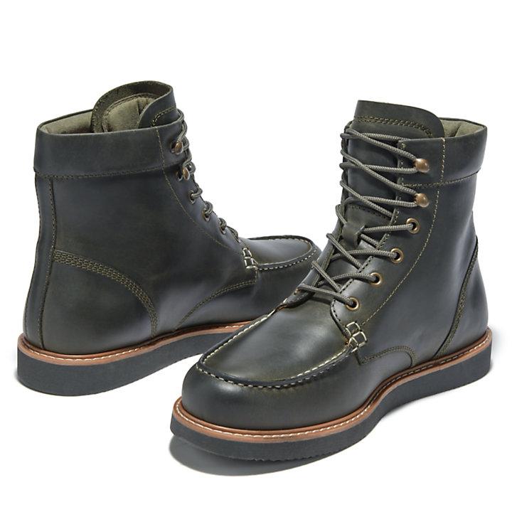 6-inch Boot à bout mocassin Newmarket II pour homme en vert foncé-