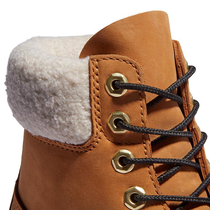Bota 6 Inch Timberland® Premium Extra Cálida para Hombre en nobuk amarillo-