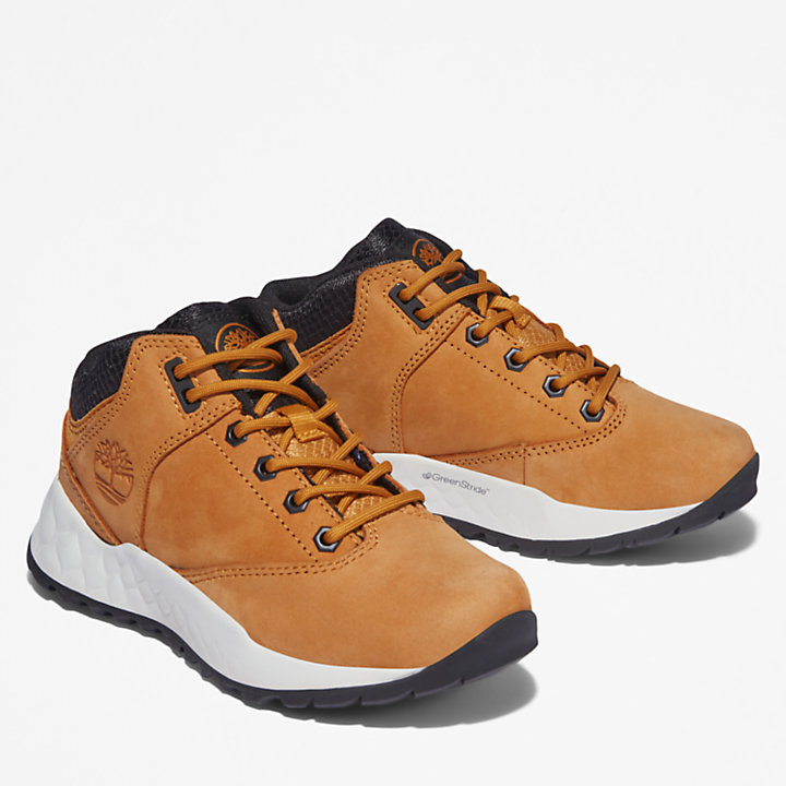 Solar Wave GreenStride™ Oxford Trainer for Youth in Yellow-