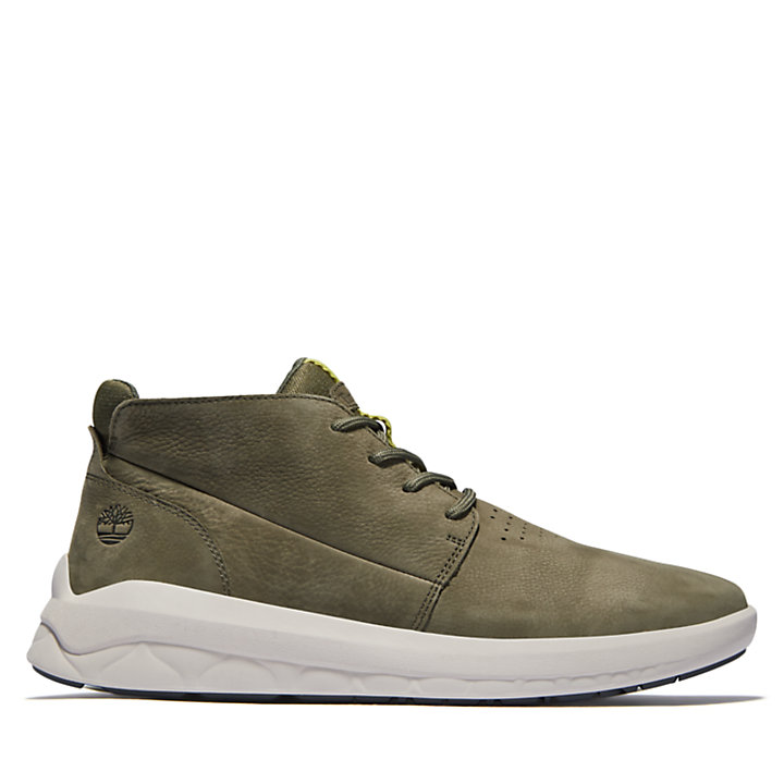 Bradstreet Ultra Chukka Boot for Men in Dark Green-