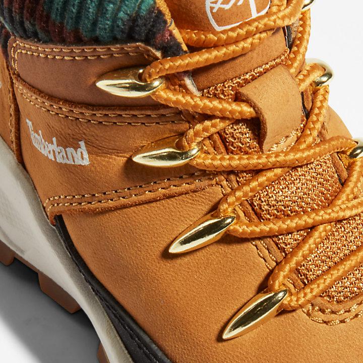 Sneaker Alta da Bambino (dal 20 al 30) Brooklyn in giallo-