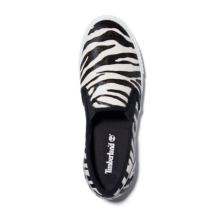 Skyla Bay Slip-On Schoen voor dames in zebraprint-