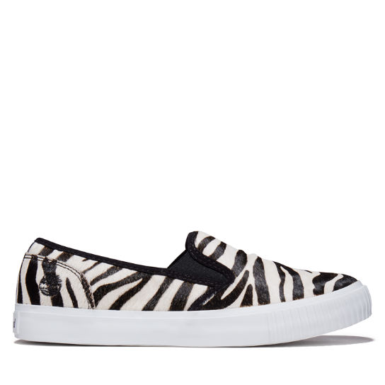 Skyla Bay Slip-On Schoen voor dames in zebraprint | Timberland