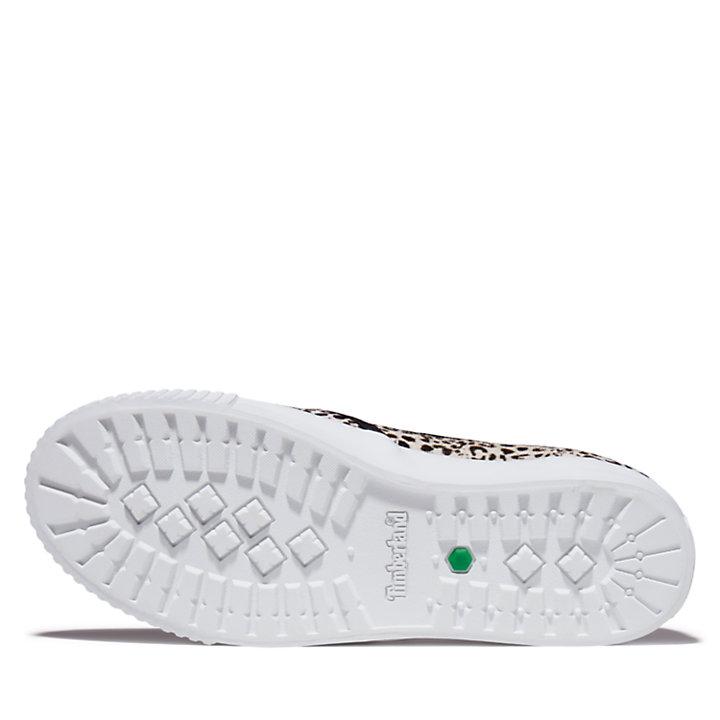Chaussure sans lacets Skyla Bay pour femme avec imprimé léopard-