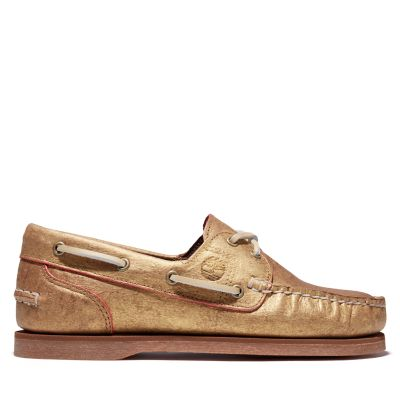 EK%2B+Classic+Boat+Shoe+for+Women+in+Gold