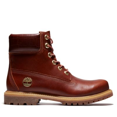 Premium+6+Inch+Boot+for+Women+in+Dark+Brown