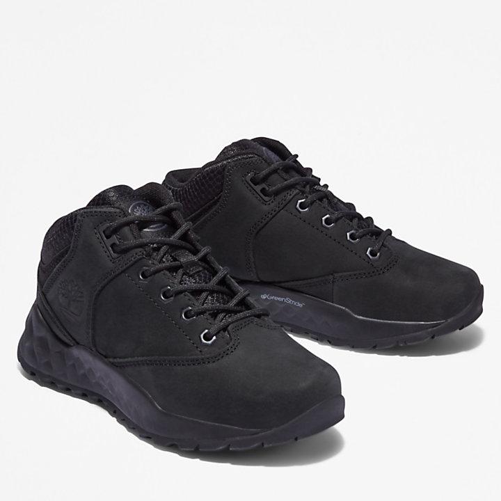 Solar Wave GreenStride™ Oxford Sneaker voor kids in zwart-