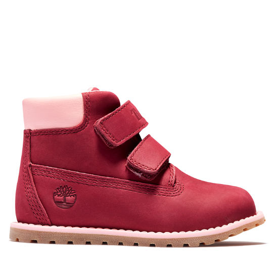 Pokey Pine Winter Boot voor peuters in roze | Timberland