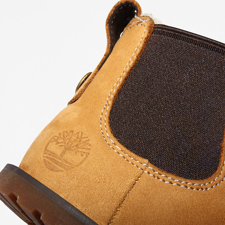 Pokey Pine Warm Boot for Toddler in Yellow-