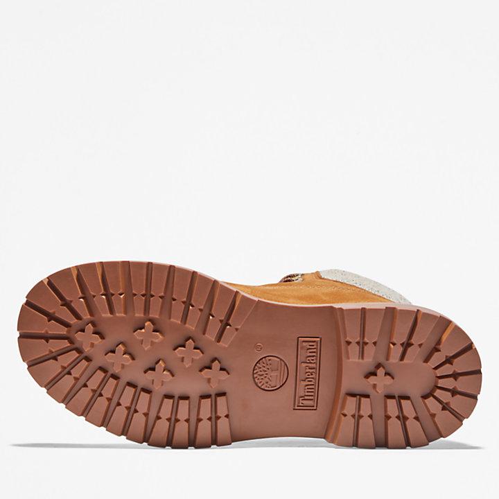 Timberland® Heritage EK+ Regenerative Leather 6-Inch Boot voor dames in geel-