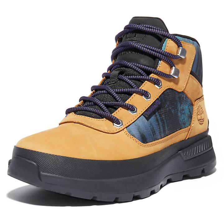 Chukka da Uomo Field Trekker NL Sky in giallo-
