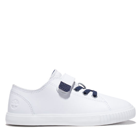 Newport Bay Sneaker for Youth in White/Navy | Timberland
