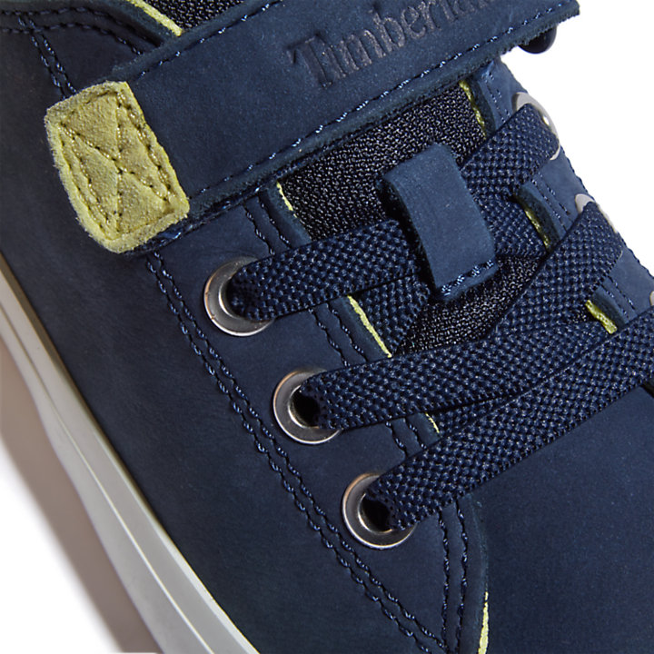 Newport Bay Sneaker for Youth in Navy-