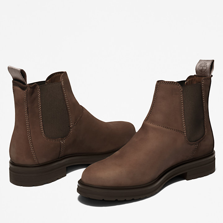Hannover Hill Chelsea Boot voor dames in donkerbruin-