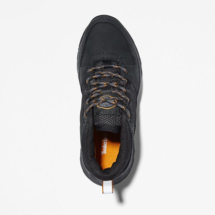 Solar Wave GreenStride™ Sneaker für Kinder in Schwarz-