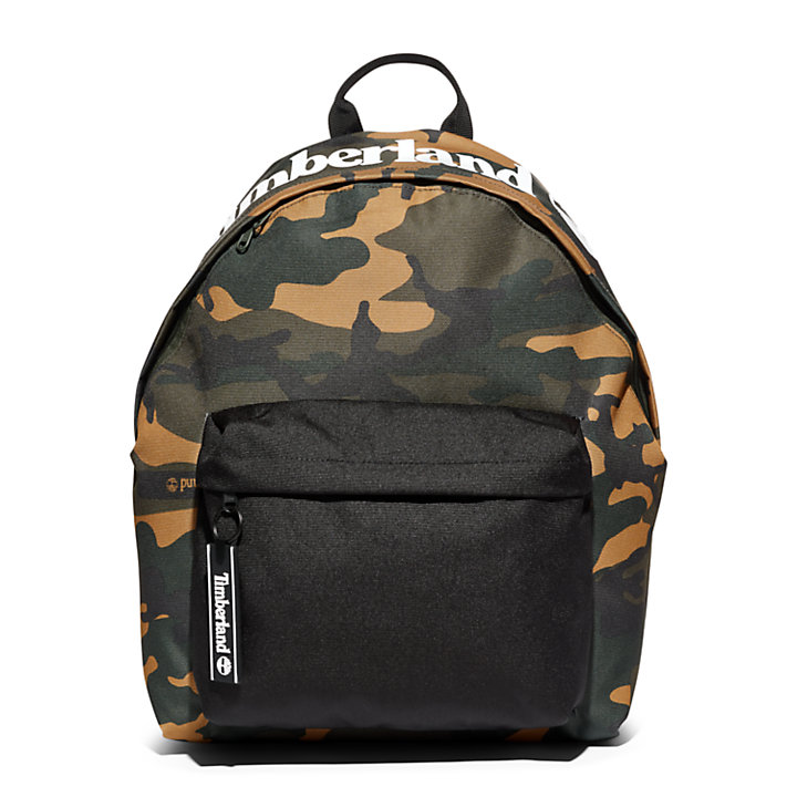 Sport Leisure Camo-Print Backpack in Green-