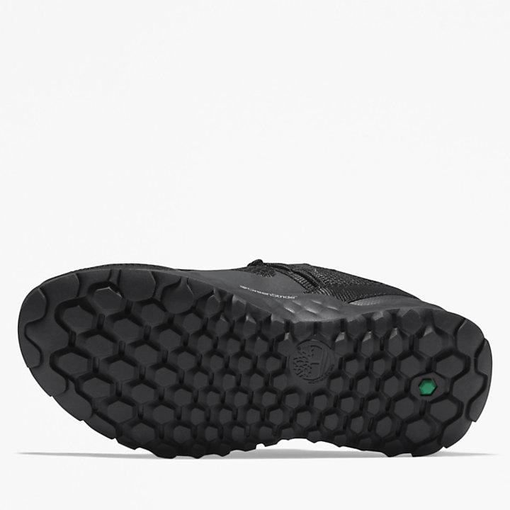 Basket Solar Wave TR GreenStride™ pour junior en noir-