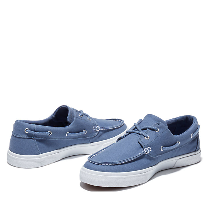 Union Wharf 2.0 EK+ Boat Shoe for Men in Blue-