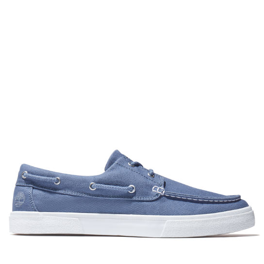 Union Wharf 2.0 EK+ Boat Shoe for Men in Blue | Timberland