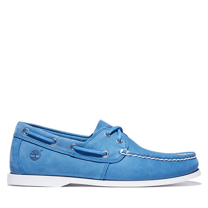 Cedar Bay Boat Shoe for Men in Blue-