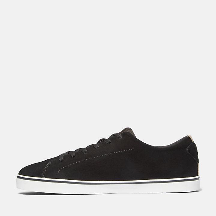 Zapatilla de Cuero Skape Park para Hombre en color negro-