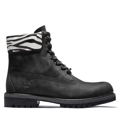 Premium+Animalier+6+Inch+Boot+for+Men+in+Black